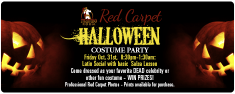 Red Carpet Halloween Party