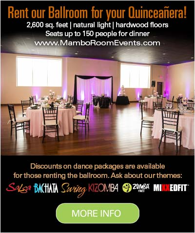 Our passionate instructors are looking forward to making your Quinceañera dance lessons fun and unforgettable.