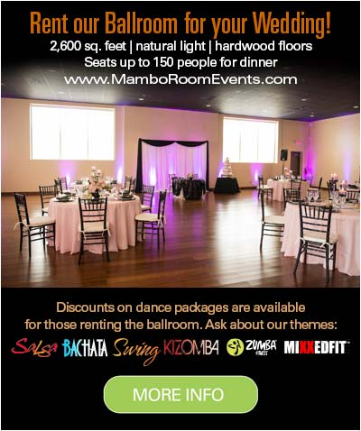 Wedding Dance Lessons by Mambo Room