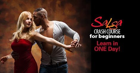 Salsa Dance Lesson 4-Hour Crash Course