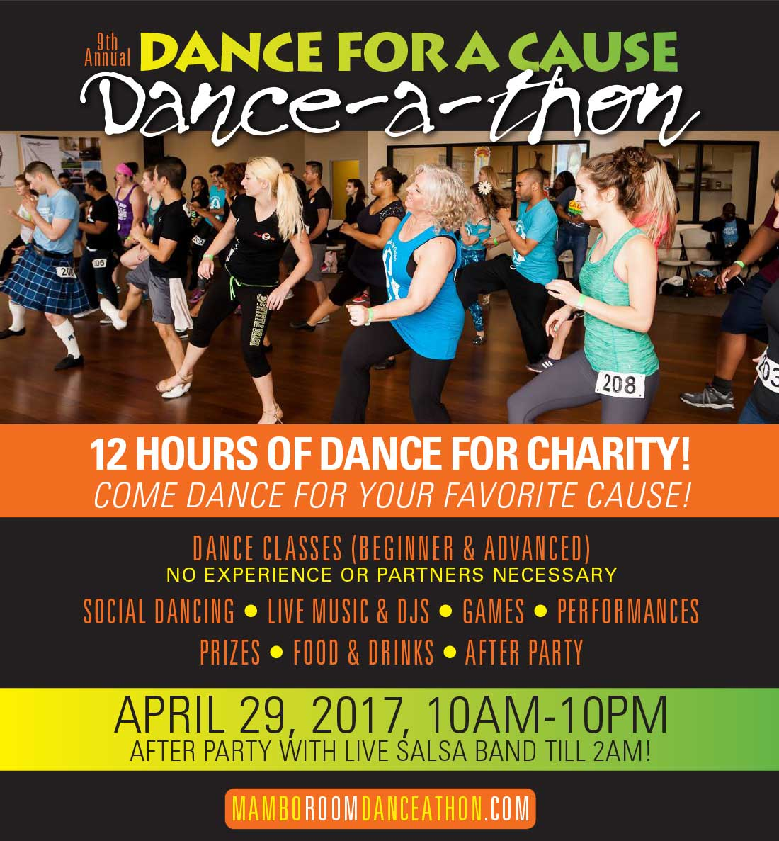 Mambo Room Dance for a Cause Danceathon