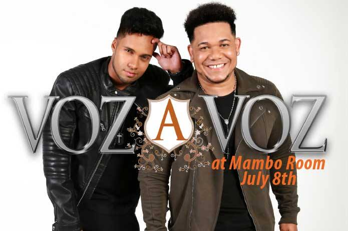 Dinner + Social with Voz a Voz at Mambo Room July 8, 2017. Get your tickets now!