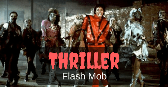 Thriller Flash Mob